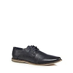 Red Herring - Navy lace up shoes