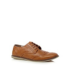 Red Herring - Tan lace up brogues