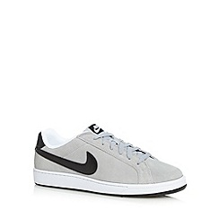 Nike - Light blue 'Court Majestic' suede trainers