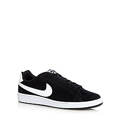 Nike - Black 'Court Majestic' suede trainers