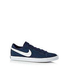 Nike - Blue 'Court Print' trainers