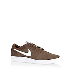 Nike - Brown 'Court Supreme' trainers