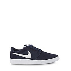 Nike - Navy 'Court Supreme' trainers