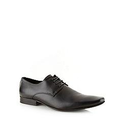 J by Jasper Conran - Designer black leather shoes