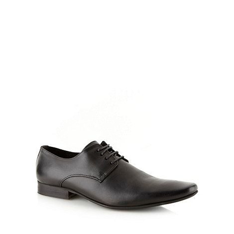 J by Jasper Conran - Designer black leather shoes