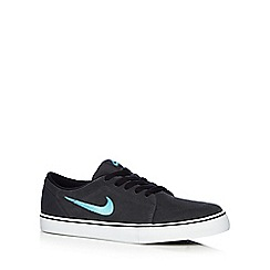 Nike - Dark grey 'Satire' suede trainers