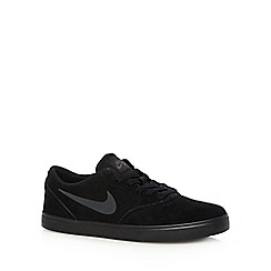 Nike - Black 'SB Check' trainers