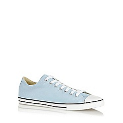 Converse - Light blue 'All Star' canvas trainers