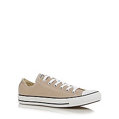 Converse - Beige low top trainers