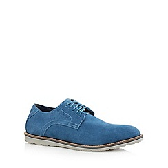 Rockport - Bright blue 'Adiprene' suede lace up shoes