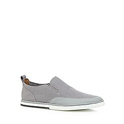 Rockport - Grey 'Adiprene' slip on shoes