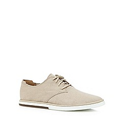 Rockport - Natural 'Adiprene' suede lace up shoes
