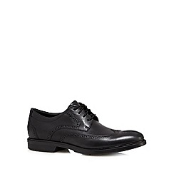 Rockport - Black 'City Smart Wingtip' shoes