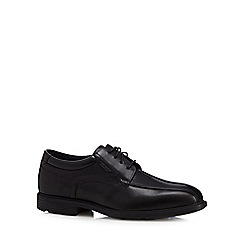 Rockport - Black leather waterproof lace up shoes
