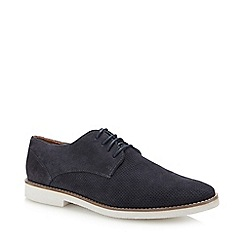 FFP - Navy lace up plimsols
