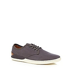 FFP - Grey lace up Derby trainers