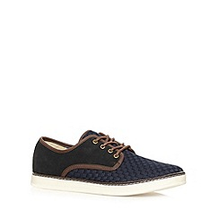 FFP - Navy weave trainers