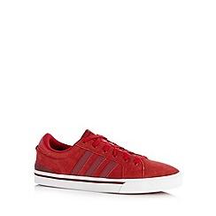 adidas - Dark red 'Park ST' suede trainers