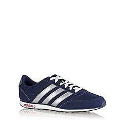 adidas - Navy 'V Racer' trainers
