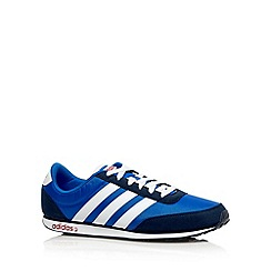 adidas - Blue 'V Racer' trainers