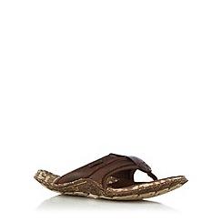 Cushe - Brown flip flops