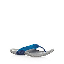 Cushe - Navy moulded flip flops