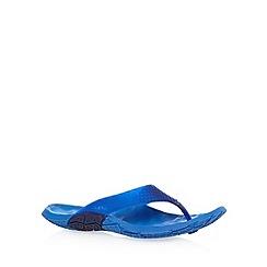 Cushe - Blue moulded flip flops