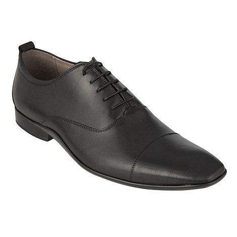 J by Jasper Conran - Designer black cap toe shoes