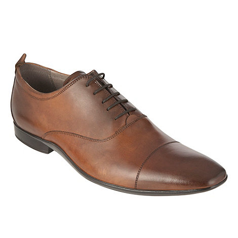 J by Jasper Conran - Designer brown cap toe shoes