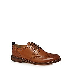 Hammond & Co. by Patrick Grant - Designer tan leather lace up brogues