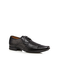 The Collection - Black wingtip brogues