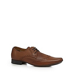 The Collection - Tan wingtip brogues