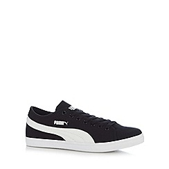 Puma - Black 'Elsu CV' lace up trainers