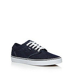 Vans - Blue 'Atwood' denim shoes