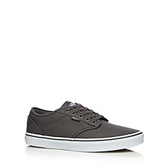 Vans - Grey 'Atwood canvas shoes