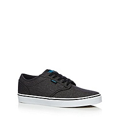 Vans - Dark grey 'Atwood' canvas shoes