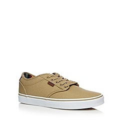 Vans - Natural 'Atwood deluxe' canvas shoes