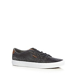 Vans - Dark grey denim canvas trainers