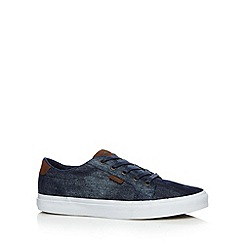 Vans - Blue 'Bishop' denim canvas shoes