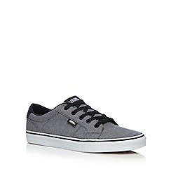 Vans - Dark grey 'Bishop Herringbone' trainers