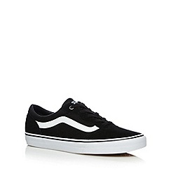 Vans - Black 'Milton' canvas shoes