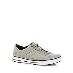 Skechers - Big and tall grey 'arcade chat' trainers