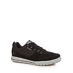 Skechers - Black 'Arcade II-Next Move' suede trainers