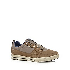 Skechers - Taupe 'Arcade II-Next Move' trainers