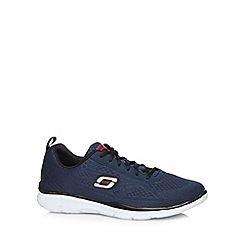 Skechers - Navy 'Sport Equalizer Quick Reaction' trainers