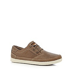 Skechers - Taupe 'Cardova Deniston' suede trainers
