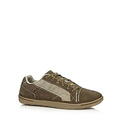 Skechers - Taupe 'Landen-Buford' casual trainers