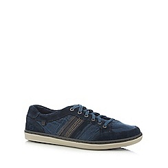 Skechers - Navy 'Sorino' lace up trainers