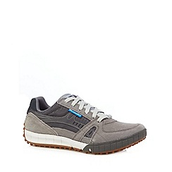 Skechers - Grey 'Floater' relaxed fit trainers