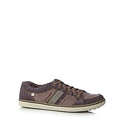 Skechers - Brown 'Sorino' lace up trainers